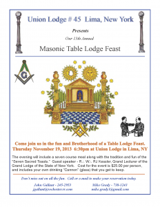 Table Lodge Flyer 2015
